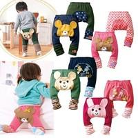 Hot Lovely Animal pattern Baby Infant pants Bottom Boy Girl Child Warmer PP Pants Leggings Loose Pant