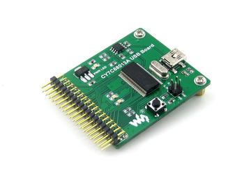 50PCS    CY7C68013A USB module communication module development board embedded 8051 microcontroller mini type