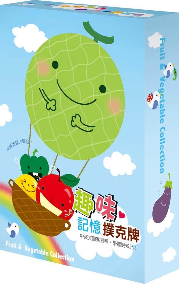 Four seasons memory poker - fruit cartoon figure magic playing card(China (Mainland))