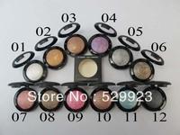 Hot sale Brand Makeup Single Eyeshadow ! EYE SHADOW FARD A PAUPIERES 2.2g (24pcs)
