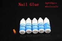 10 x MXBON 3g Nail Glue/Nail Gel For Nail Tips False Nail+Free shipping