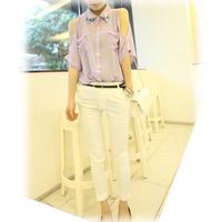 Female strapless chiffon shirt top fashion women's