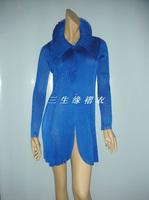 Fashion high quality pleated fashion boutique top long-sleeve slim elegant female trench outerwear fashion