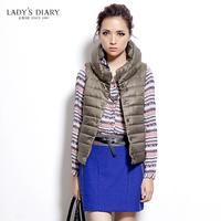 Female autumn 2013 diary women's top fashion trend of fashion sweet preppy style cardigan cotton vest