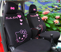 Hello Kitty Seat Covers Set Universal Washable for 4 Seasons