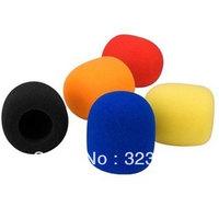 5pcs/Lot Multicolor Handheld Microphone Mic Windscreen Windshield Foam Covers