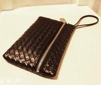 free shipping 2013 new women's fashion handbag clutch bag zipper bag women's bag mini bag casual street