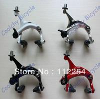 Free Shipping road bike brake/Newest Brake,bicycle V-brake,1 pcs,front caliper/rear caliper/Fixed Gear brake,4 colors