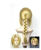 Japan Animation Art Fullmetal Alchemist Edward Elric's cosplay wig wigs