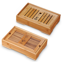Medium-sized Water tea set teaberries bamboo tea tray kung fu tea tray tea sea pallet saucer