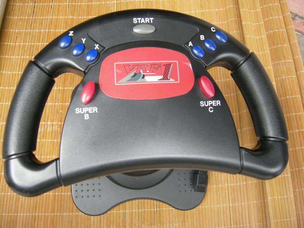 Free shipping Sega game machine sega saturn steering wheel(China (Mainland))