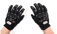 High quality Free shipping !!! 3 Colors Motorcycle Bike full finger Protective gear Racing Gloves SIZE:M/L/XL/XXL
