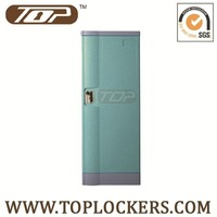 single door locker with multi-function box, mirror groove and folded clothes rod inside/ free shipping