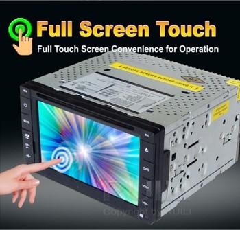 6.2 inch fixed universal Car DVD  GPS  800*480(WVGA)  Quality Assurance  ISO 2 DIN Size Free Navitel or IGO  map