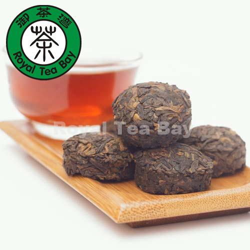 Semen cassia seed tea Small Pu erh Tea Cakes 250g 8 8oz P046 Relaxing Bowel Ripe