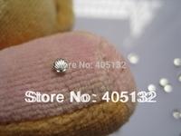 MD-456 3D 200pcs/bag Nail Decoration Small 3mm Metal Silver Shell Metal Nail Art Decoration