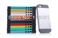 2013 New Hot Selling SLIM ARMOR SPIGEN SGP Case For iPhone 5 5S iphone5 DHL/Fedex Free Shipping 100pcs/lot