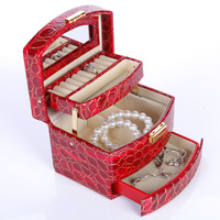 Automatic casked guanya accessories storage box gift box jewelry box 646 - 59