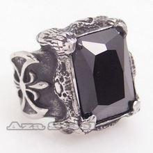 silver black onyx ring price
