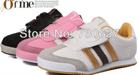 Newest sell like hot cakes children kids fashion leisure comfortable boys and girls sports shoes 907,free shipping