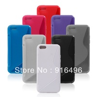 New Arrival Jelly soft case for apple iphone 5C Gel S Line Soft TPU Case for 5c Freeshipping Fast Freeshipping