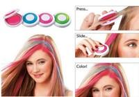 120set Hair Chalk As Seen On TV Set of 4 Hot Pink Blue Fuchsia Neon Green