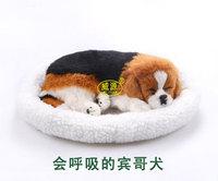 2014 pampered petz pet mate breathing dog English Springer Spaniel Elegantes Sprin cute toy sleeping pet emulational vivid toy