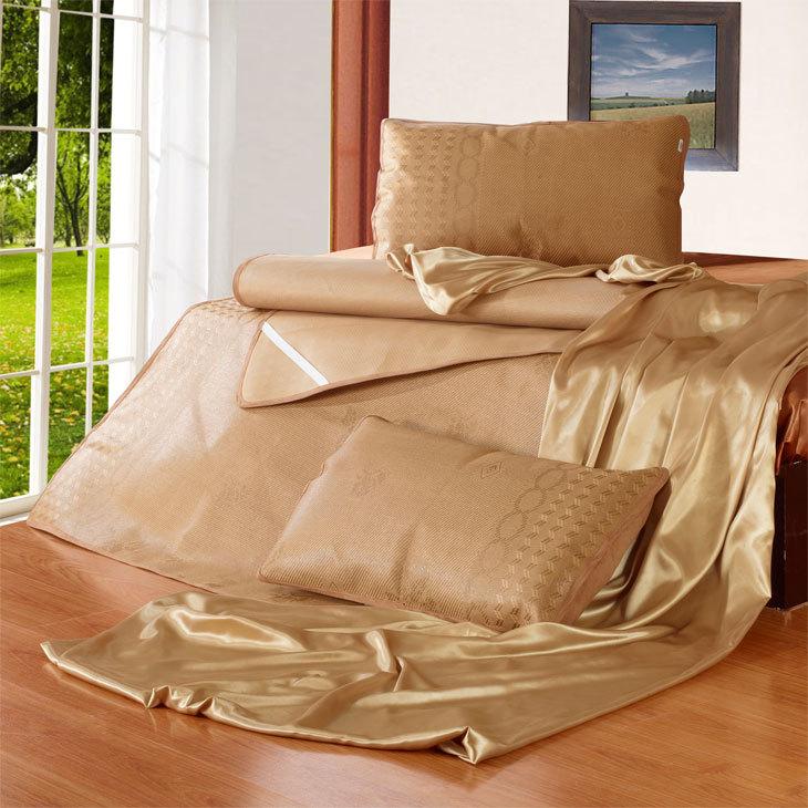 Folding multi-purpose mat air conditioning mat rattan seat piece set 1.5m elegant rattan seats(China (Mainland))