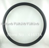FULLFUN 38mm 23mm wide Tubular Carbon Rims 700C Road Bicycle Full Carbon Wheel UD Matte One Piece 23C Basalt Braking Surface