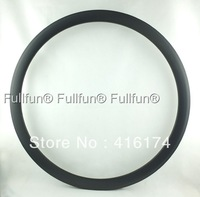 FULLFUN Carbon Rims 700C 38mm 23mm wide Tubular Road Bicycle Full Carbon Wheel UD Matte One Piece