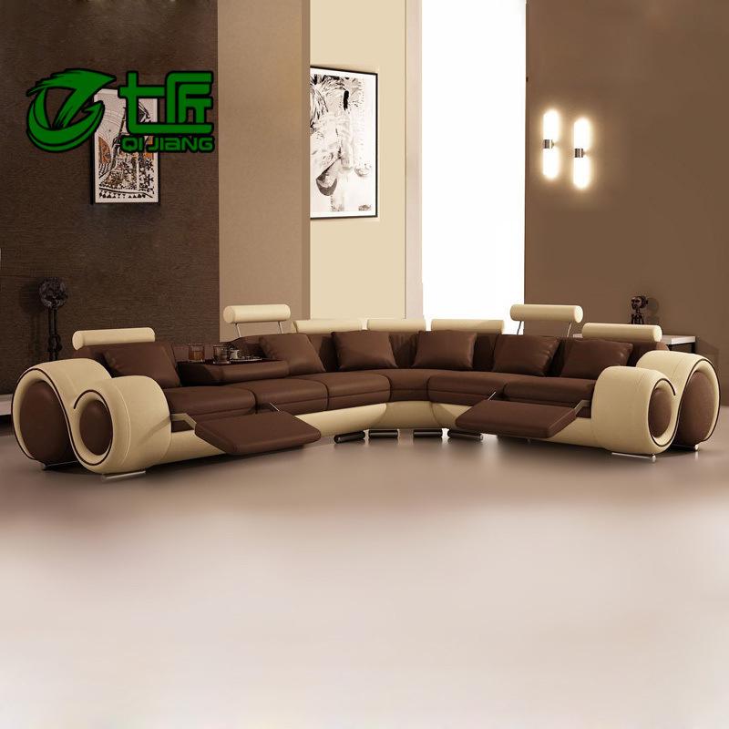 Mitu factory direct leather modern sofa corner creative combination of  | 800 x 800 · 121 kB · jpeg