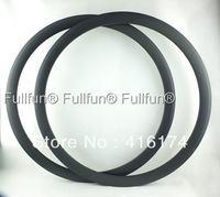 FULLFUN Carbon Rims 700C 38mm 23mm wide Tubular Road Bicycle Full Carbon Wheel UD Matte 16/18/20/24/32 Holes