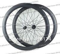 FULLFUN 50mm 28mm Wide Tubular Carbon Wheelset 700c Novatec 271/372 Hubs Road Bicycle Full Carbon 3K Matte Aero Spokes Basalt