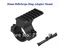 High quality 30mm Ring Telescopic Sights Gun Mount 30mm RifleScope Ring Adapter Mount Weaver Rail