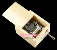 Philco mini hand-cranked music box music box diy wool diy birthday gift