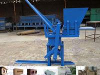 Low price ! JZ1-40 interlock brick machine,interlock bricks manual making machine
