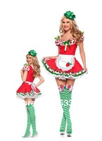 Free Shipping Sexy Strawberry Cosplay Fruit Costume Adult Women's Holloween New Year Costume Party Theme Party DS Nightclub