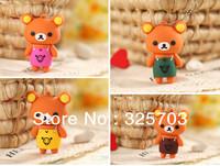 Wholesale, multicolor cartoon apron bear model 4 gb, 8 gb, 16 gb, 32 gb flash drive usb 2.0 / memory stick/car/thumb/gift