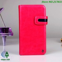 Free Shipping 5pcs/lot Lux Card Holder Slot Hybrid Leather Synthetic Wallet Case For Samsung Galaxy S4 icovercase
