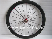 rear wheel 50mm clincher,only rear with 24 holes,carbon bike wheel 25mm width