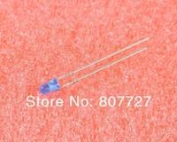 100pcs new Blue LED 3mm DIP Hole Though freeshipping