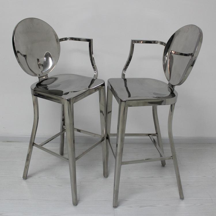Starck Kong Barstool Ghost Bar Stool Stainless Steel Bar Chair Bar Stool Devi