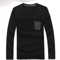 Free Shipping 2013 fashion handmade v neck male adults cardigan man sweaters
