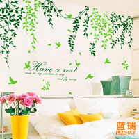 Lovable Secret - Wall stickers sofa tv background wall ofhead wall stickers  free shipping
