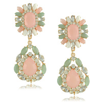 New Statement Big Pink Earrings for Women earrings fashion 2013