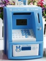 Creative simulation ATM Teller Machine savings piggy bank home furnishing accessories children couple birthday gifts