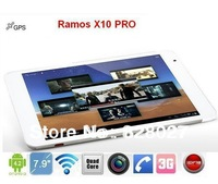 """7.85"""" Ramos X10 PRO Built-in 3G GPS MTK8389 Quad Core Phone Call Tablet PC IPS 1GB RAM 16GB ROM Android 4.2 Blutooth WIFI HDMI"""