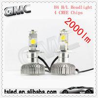 Free shipping high power led car headlight h8 h9 h10 h11 9005 9006 45W 2000lumen IP68 waterproof