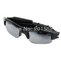 Wholesale Video Sunglasses Mini camera HD DV DVR Camera Black