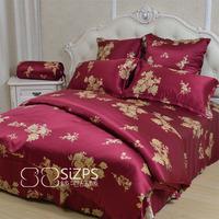 Silk four piece set piece bedding set 100 mulberry silk multicolor silk bedding